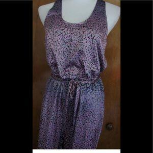 NEW Armani Exchange 1 piece Jumpsuit Pantsuit silk
